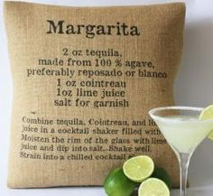 The Drink or the Pillow? How about Both! - would be cute as patio pillows for a party.