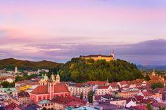 Słowenia największe atrakcje Lublana Maribor Ptuj Triglav Bled
