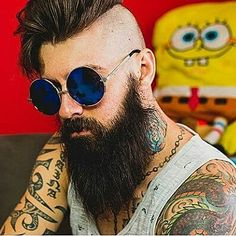 Long Beard Styles, Hair And Beard Styles, Beard Head, Beard Quotes, Beard Tips, Santa Beard, Hipster Beard, Perfect Beard, Mohawks