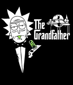 Rick The Godfather poster. Rick and Morty Halloween Wallpaper Iphone, Halloween Backgrounds, Cartoon Wallpaper, Rick And Morty Image, Rick I Morty, Rick And Morty Drawing, Rick And Morty Tattoo, Rick And Morty Quotes, Rick And Morty Poster