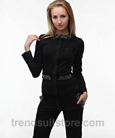 #style #fashion #jumpsuit Stylish womens rhinestones jumpsuit