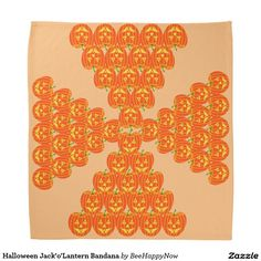 Halloween Jack'o'Lantern Bandana