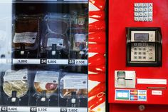 Parisian Vending Machine Dispenses Beef Carpaccio and Duck Confit - Eaterclockmenumore-arrownoyes : Sure beats peanut M