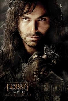 The Hobbit was pretty much amazing, but not gonna lie, it was 20x better just because of eye candy like Kili (Aiden Turner)