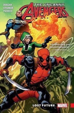 Uncanny Avengers: Unity Vol. 1 #TPB #Marvel @marvel @marvelofficial #UncannyAvengers (Cover Artist: Ryan Stegman) Release Date: 4/13/2016