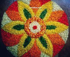 Rangoli Designs Flower, Rangoli Ideas, Colorful Rangoli Designs, Rangoli Designs Diwali, Diwali Rangoli, Rangoli Designs Images, Flower Rangoli, Beautiful Rangoli Designs, Flower Designs