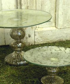 Make every slice feel like a celebration with this glass cake stand. It gives homemade pies and bakery desserts the elegant presentation they deserve—before they disappear, that is.3'' H x 7'' diameterGlassImported