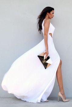 White Guest Maxi Dress