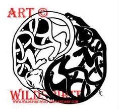 Yin Yang Celtic Cat Tattoo By WildSpiritWolf On DeviantART