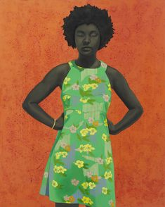 Find the latest shows, biography, and artworks for sale by Amy Sherald. Through her monumental portraits of African American subjects, Amy Sherald explores a… African American Museum, African American Artist, American Artists, Amy Sherald, Kehinde Wiley, National Portrait Gallery, Black Artists, Contemporary Artists, Modern Art