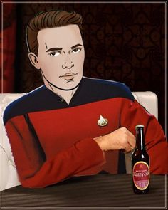 The Most Interesting Wheaton in The World #WesleyCrusherEvolved @Wil Wheaton