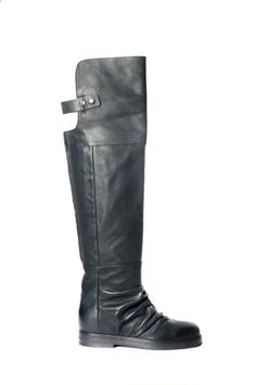 sporty cuissard boots