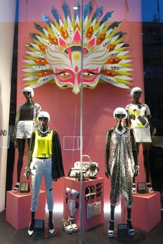 www.retailstorewindows.com: River Island, London