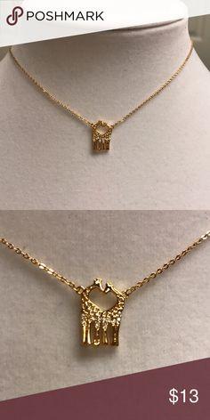 Selling this 18k Gold Plated CZirconia Necklace on Poshmark! My username is: nela52. #shopmycloset #poshmark #fashion #shopping #style #forsale #Jewelry