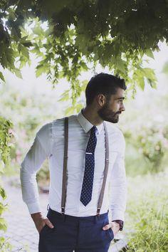 mens wedding attire blue tie pants with suspenders alixann loosle wedding groom attire blue 24 Men's Wedding Attire For Beach Celebration Casual Groomsmen, Casual Groom Attire, Groomsmen Outfits, Groom Outfit, Groom Suits, Mens Attire, Groom Dress, Groomsman Attire, Navy Suits