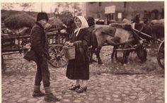 AK alt Am Holzmarkt Memel 1932 nicht gelaufen Ostpreussen