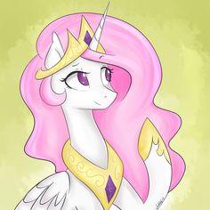 Princess Celestia ( Pink Mane Color ) by OtakuBrony on DeviantArt