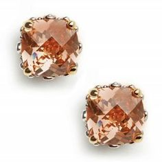 Pink Champagne Sapphire earrings #splendidsummer