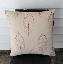 leaf cushion #cushion #pillow