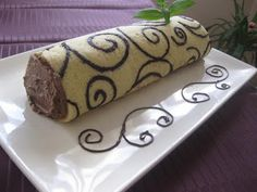 Cute Desserts, Eclairs, Sweet Cakes, Cake Decorating, Cake Rolls, Roll Cakes, Swiss Rolls, Soups, Food Ideas