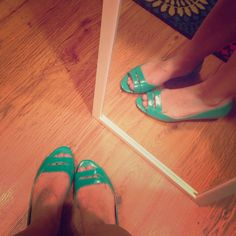 Nine West flats Teal Nine West flats, perfect for spring, summer, or any occasion! They bring life to any outfit. Nine West Shoes Flats & Loafers