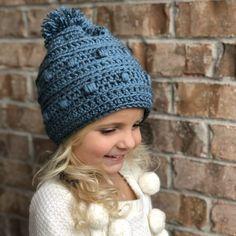 Snow Drifts Hat Crochet Pattern by Little Monkeys Designs a57a78c3295c