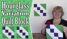 Quilting Blocks: Hourglass Variation Quilt Block Tutorial