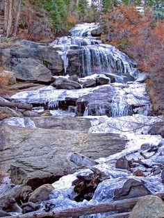 Frozen Sierra Fall