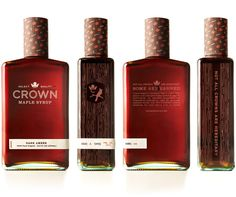 Crown Maple identity and packaging design — Touchey Design Magazine - Ideas and Inspiration - Very creative packaging by Studio MPLS who also published an interesting process post on their blog…