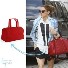 Olivia Palermo, bolso rojo Collection By You.