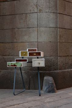 You can't lay down your memory -the magic of repurposed drawers - Upcyclista