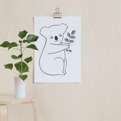 Poster Koala / Audrey Jeanne