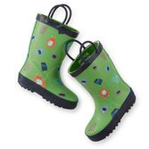 Splashing around in puddles is even more fun with these monsters! Plus, these boots will keep his feet dry in the rain.<br>