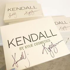 signed #kendallxkylie PR boxes will be available today at 9am pst! be quick, there are only 200 boxes and you won't want to miss this... 🤍✨