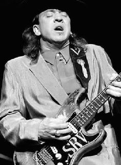 Stevie Ray Vaughn; best lead blues player for my money