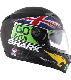 Shark S700S Scott Redding Shark Motorcycle Helmets, Shark Helmets, Motorcycle Outfit, Bike Helmets, Races Outfit, Valencia, Biker Gear, Buckets, Racing