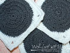 pattern: Granny Circle Square | Woll-Lust mit Haken