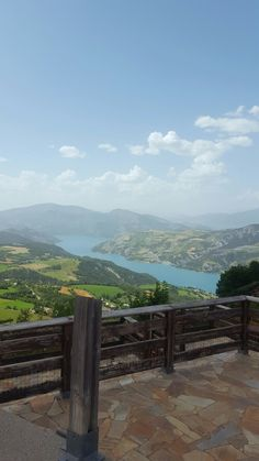Le lac de Serre Ponçon #nature #lac #montagne