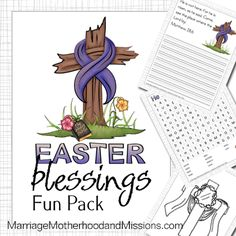 Easter Blessings Fun Pack - Marriage Motherhood and Missions