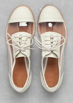 lovely #summer white transparent #shoes
