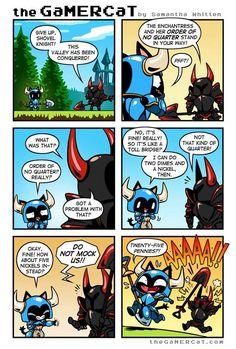 the GaMERCaT :: Making Change | Tapastic Comics - image 1