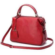 403134b80b New Arrival 2017 ESUFEIR Genuine Leather Women Handbag Famous Brand  Designer Women Shoulder Bag Solid Natural Leather Women Bag