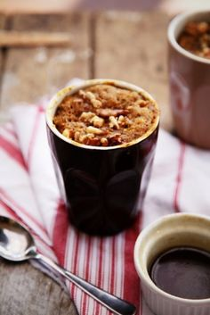 Sticky Date Pudding In A Mug