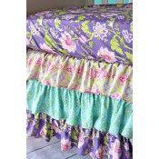 **NEW!** Purple Garden Crib Bedding Caden lane baby nursery