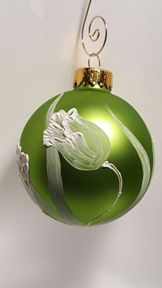 Hand-painted+blown+glass+ornament+brush+by+SaltRiverFancies