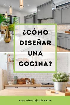 Kitchen Cabinet Design, Interior Design Kitchen, Kitchen Furniture, Kitchen Decor, Kitchen Ideas, Küchen Design, House Design, French Home Decor, Apartment Design