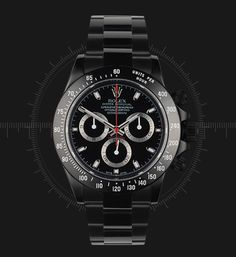Project X - All Black Rolex Daytona.... sooooo epic.