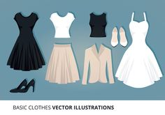 Clothes Vector Illustration