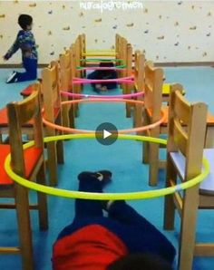 26 Fun and Easy Activities and Crafts for Kids on Cold Winter Days - MyKingList. Physical Activities For Kids, Gross Motor Activities, Team Building Activities, Gross Motor Skills, Educational Activities, Toddler Activities, Preschool Activities, Indoor Activities, Physical Play
