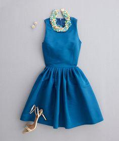 wedding/party dress look